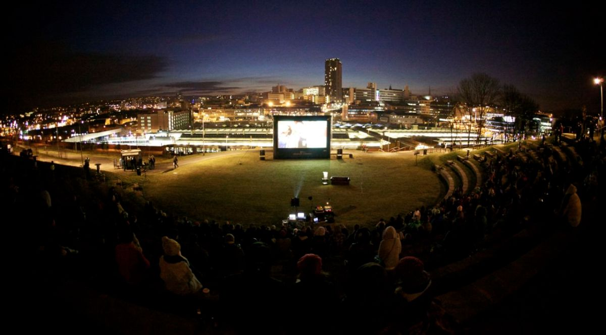 Tour de Cinema – 16:00 April 5th, Sheffield Amphitheatre (FREE)