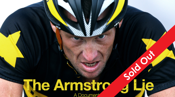 The Armstrong Lie, June 26th, LongshawEstate