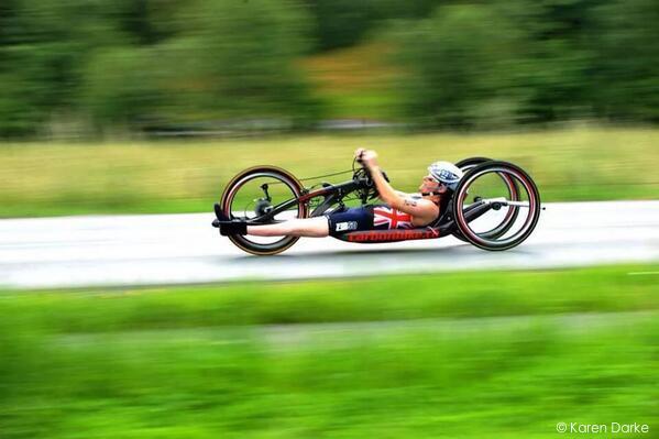 Paralympian Karen Darke – 12th October – 12 pm – Buxton AdventureFestival